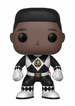 Imagen de Power Rangers Figura POP! TV Vinyl Black Ranger (No Helmet) 9 cm.