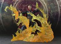 Foto de Doctor Extraño Figura S.H. Figuarts Doctor Strange & Burning Flame Set 15 cm