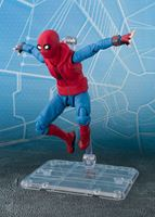 Foto de Spider-Man Homecoming Figura S.H. Figuarts Spider-Man Homesuit & Option Act Wall 15 cm