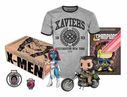 Imagen de MARVEL Collector Corps X-Men Logan