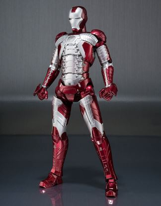 Imagen de Iron Man 2 Figura S.H. Figuarts Iron Man Mark V & Hall of Armor Set 15 cm