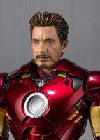 Foto de Iron Man 2 Figura S.H. Figuarts Iron Man Mark IV & Hall of Armor Set Tamashii Web EX 14 cm