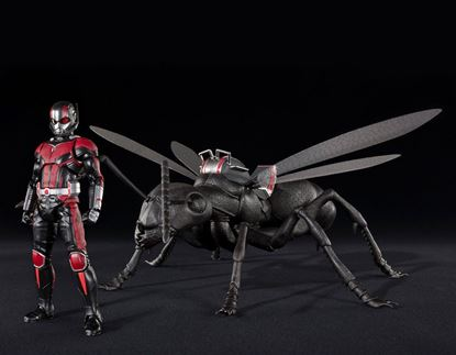 Imagen de Ant-Man y la Avispa Figura S.H. Figuarts Ant-Man & Ant Set 15 cm