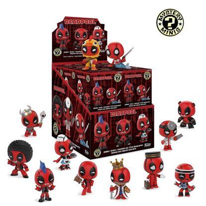 Imagen de Deadpool Minifiguras Mystery Minis 5 cm PRECIO POR CAJA INDIVIDUAL DE 5CM