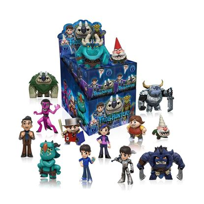 Imagen de Trollhunters Minifiguras Mystery Minis 5 cm PRECIO POR CAJA INDIVIDUAL DE 5CM