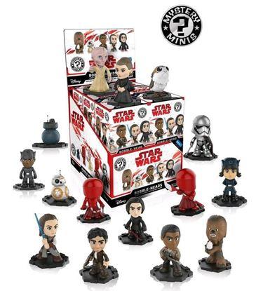Imagen de Star Wars The Last Jedi Minifiguras Mystery Minis 6 cm PRECIO POR CAJA INDIVIDUAL DE 6CM