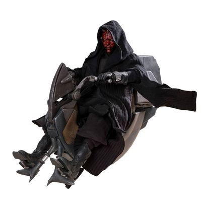 Imagen de Star Wars Episode I Figura DX Series 1/6 Darth Maul & Sith Speeder 29 cm