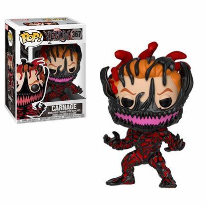 Imagen de Venom POP! Marvel Vinyl Cabezón Carnage 9 cm.