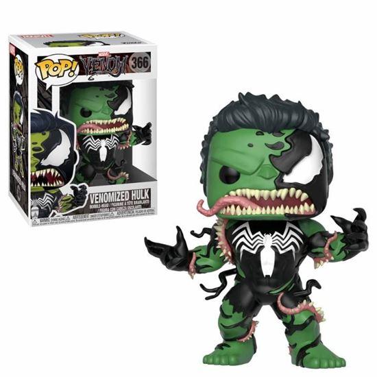 Foto de Venom POP! Marvel Vinyl Cabezón Venomized Hulk 9 cm.