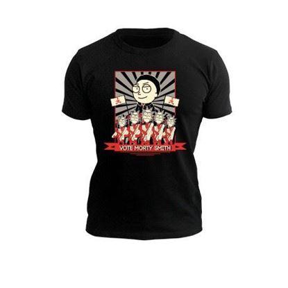 """Imagen de Camiseta """"Vote Morty"""" hombre"""