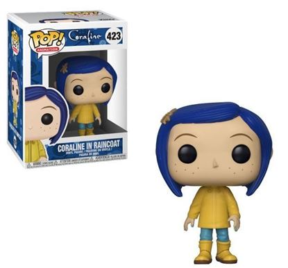 Imagen de Coraline POP! Movies Vinyl Figuras Coraline in Raincoat 9 cm.