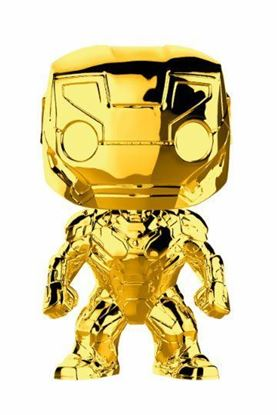 Imagen de Marvel Studios 10 POP! Marvel Vinyl Figura Iron Man (Chrome) 9 cm.