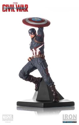Imagen de Captain America Civil War Estatua 1/10 Captain America 25 cm