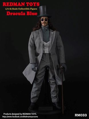 Imagen de 1/6 REDMAN TOYS Collectible Figure Dracula Blue