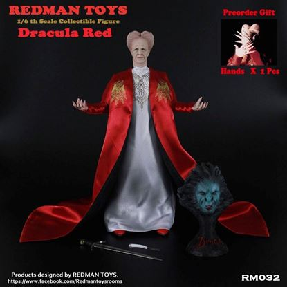 Imagen de 1/6 REDMAN TOYS Collectible Figure Dracula Red
