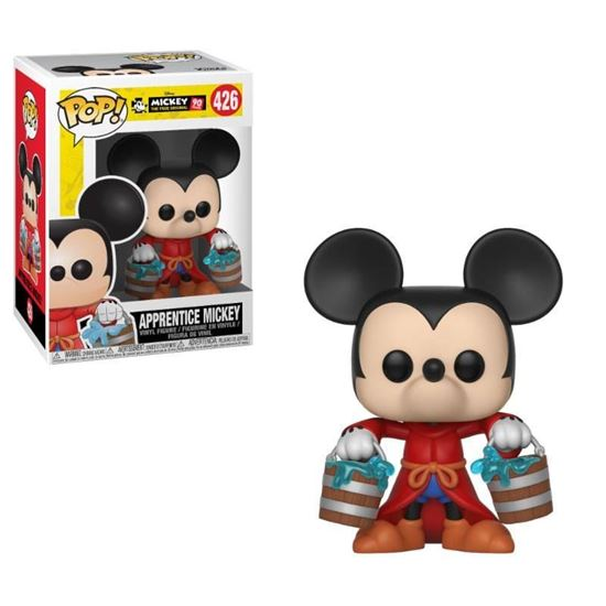 Foto de Mickey Mouse 90th Anniversary Figura POP! Disney Vinyl Apprentice Mickey 9 cm