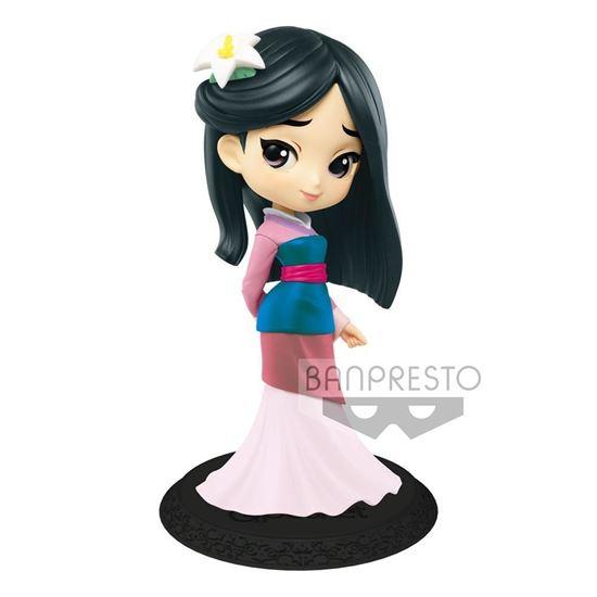 Foto de Figura Q Posket Mulan (Pastel Colour Version) 14 cm.