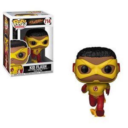 Imagen de The Flash Figura POP! Television Vinyl Kid Flash 9 cm.