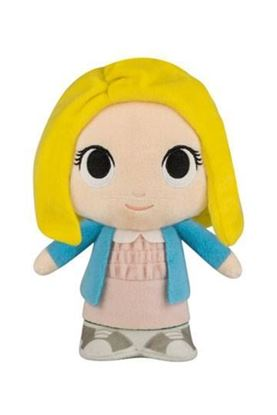 Imagen de Stranger Things Peluche Super Cute Eleven with Wig 20 cm