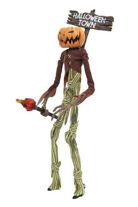 Imagen de Pesadilla antes de Navidad Figura Silver Anniversary Pumpkin King Jack 25 cm