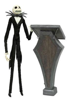 Imagen de Pesadilla antes de Navidad Figura Podium Jack Deluxe Coffin Doll 36 cm