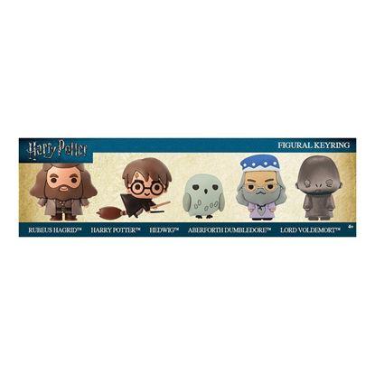 Imagen de Pack de 5 Llaveros Caucho 3D - Harry Potter
