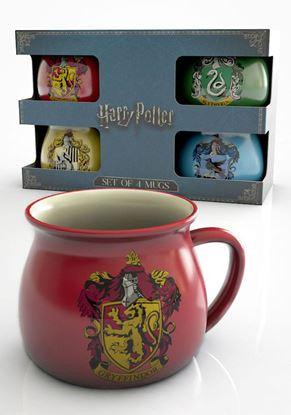 """Imagen de Pack de 4 Tazas """"Expresso"""" - Harry Potter"""