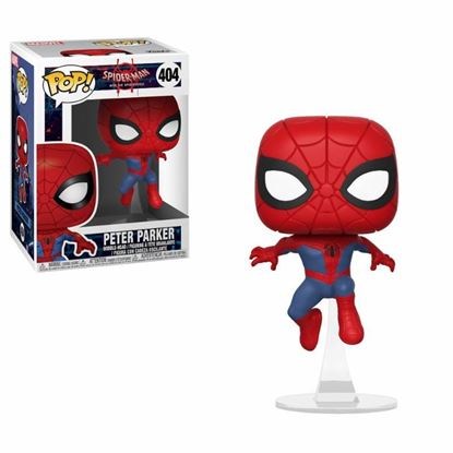 Imagen de Spider-Man Animated POP! Marvel Vinyl Figura Peter Parker 9 cm.