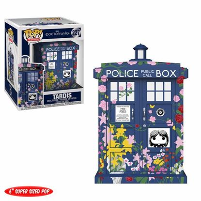 Imagen de Doctor Who Oversized POP! TV Vinyl Figura Clara's Memorial Tardis 15 cm.