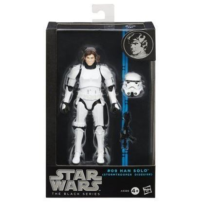 Imagen de Star Wars Black Series Figuras 15 cm Stormtrooper Han Solo