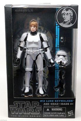 Imagen de Star Wars Black Series Figuras 15 cm Stormtrooper Luke