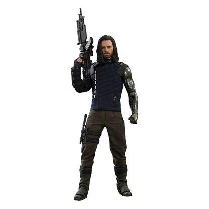 Imagen de Vengadores Infinity War Figura Movie Masterpiece 1/6 Bucky Barnes 30 cm