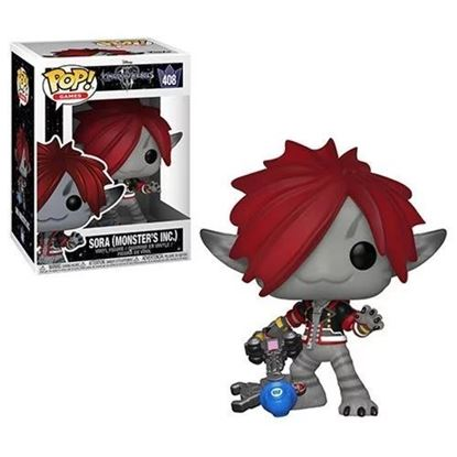 Imagen de Kingdom Hearts 3 POP! Disney Vinyl Figura Sora (Monsters Inc.) 9 cm.