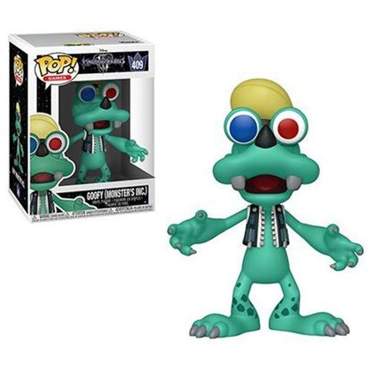 Imagen de Kingdom Hearts 3 POP! Disney Vinyl Figura Goofy (Monsters Inc.) 9 cm.
