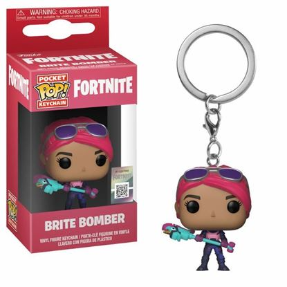 Imagen de Fortnite Llavero Pocket POP! Vinyl Brite Bomber 4 cm DISPONIBLE APROX: FEBRERO 2019