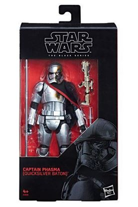 Imagen de Star Wars Episode VIII Black Series Figura 2019 Captain Phasma (Quicksilver Baton) 15 cm