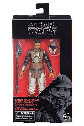 Imagen de Star Wars Black Series Figura 2018  Lando Calrissian Skiff Guard 15 cm