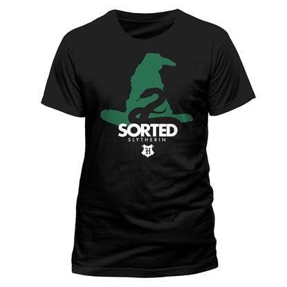 Imagen de Camiseta Sorted Slytherin Talla S - Harry Potter