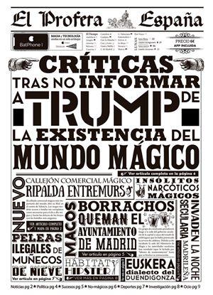 """Imagen de Periódico """"El Profeta España"""" Nº 2 - Harry Potter"""
