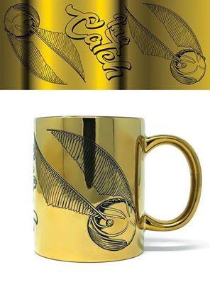 Imagen de Taza Metalizada Snitch Dorada - Harry Potter