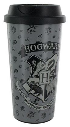 Imagen de Vaso con Tapa Hogwarts - Harry Potter