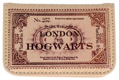Imagen de Tarjetero Billete Hogwarts Express - Harry Potter