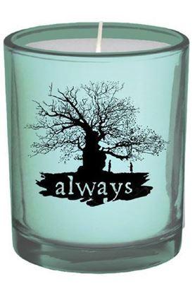 """Imagen de Vela en vaso de Vidrio """"Always"""" - Harry Potter"""