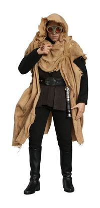 Imagen de Star Wars Episode VI Figura Movie Masterpiece 1/6 Luke Skywalker Endor Deluxe Ver. 28 cm