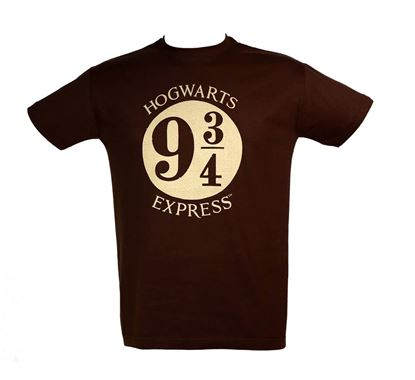 Imagen de Camiseta Chico Hogwarts Express Talla L - Harry Potter