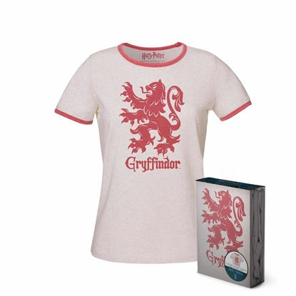 Imagen de Camiseta Chica Gryffindor Talla L - Harry Potter