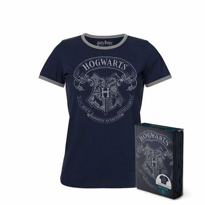 Imagen de Camiseta Chica Hogwarts Talla XL - Harry Potter