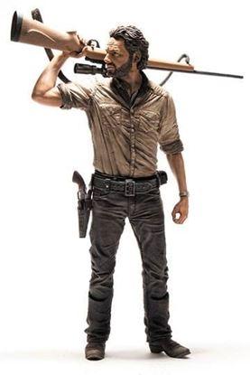 Imagen de The Walking Dead Figura Deluxe Rick Grimes 25 cm