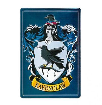 """Imagen de Placa Metálica 3D """"Ravenclaw"""" 20 x 30 cm - Harry Potter"""