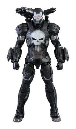 Imagen de Marvel Future Fight Figura Video Game Masterpiece 1/6 The Punisher War Machine Armor 32 cm